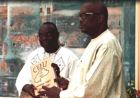 Présidence du Faso: Me Barthélémy Kéré a remis son rapport de fin de mandat à la CENI
