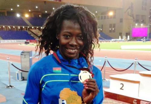 Marthe Koala, athlète burkinabè aux JO: «Je veux faire honneur à mon pays»