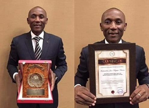 Jean Baptiste Natama, meilleur promoteur de la diplomatie en Afrique