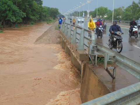 Pluie du 9 août 2016 à Ouagadougou: 1 mort et des maisons sous les eaux