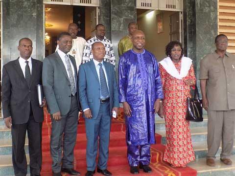 Paul Kaba Thiéba a reçu le président de l'Autorité de régulation régionale du secteur de l'électricité de la CEDEAO