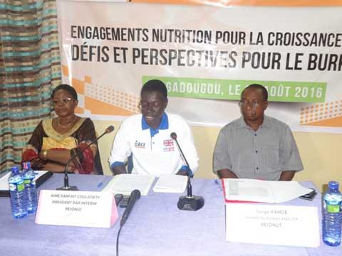 Lutte contre la malnutrition: Le RESONUT invite les différents acteurs à poursuivre les efforts