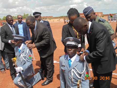 Garde de sécurité pénitentiaire: La promotion Adama Rouamba apte à servir
