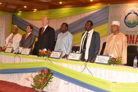 Conférence internationale des dirigeants: Des parlementaires échangent sur la Paix à Ouagadougou