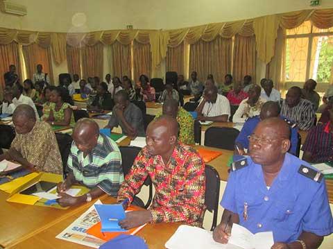Lutte contre la drogue: Des acteurs de prise de décision formés à Ouagadougou