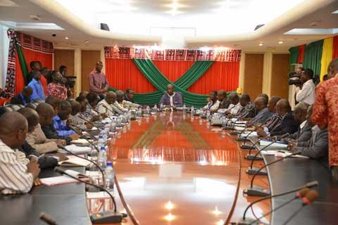 Blocage des travaux de l'Université Ouaga II: Le Premier ministre a rencontré les différents acteurs
