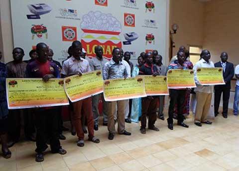 Tranche commune Entente 2016 à Abidjan: Avec 20 millions remportés, les Burkinabè dominent le classement