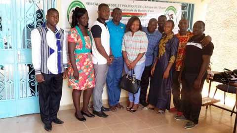 Vie politique nationale: Le Réseau  Jeunesse et Politique/Burkina prône la solidarité entre jeunes des partis politiques
