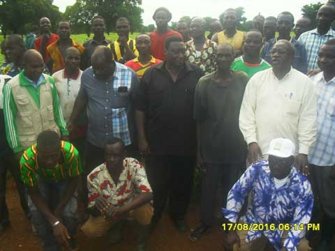 Région cotonnière de Diébougou: Le DG de la SOFITEX, satisfait de la culture du coton 100% conventionnel