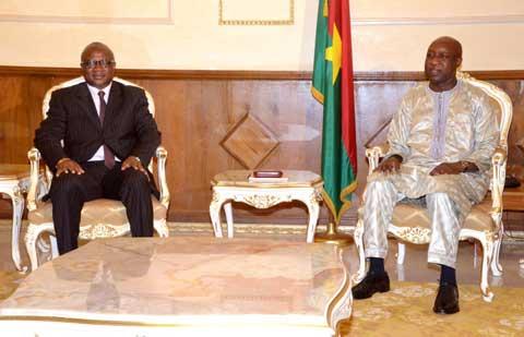 VIe congrès des municipalités du Burkina: Une délégation de l'AMBF a été  reçue  à la Primature
