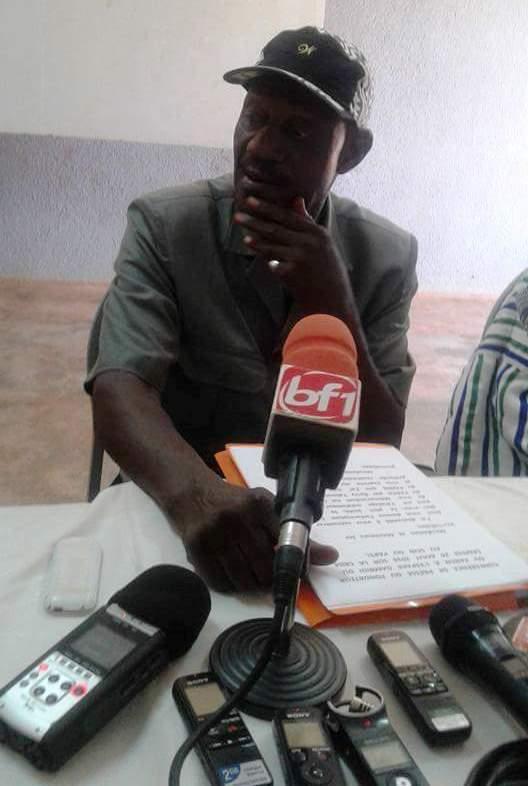 Conférence de presse du PAREN sur la crise au sein du parti: La déclaration liminaire de Laurent Bado