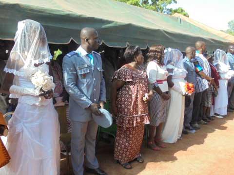 Garde de sécurité pénitentiaire: 31 couples se sont dit «oui» devant le maire