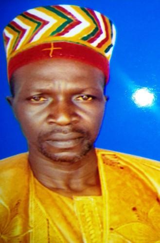 Faire part: Décès de sa Majesté Lall-naaba Koanga, chef de canton de Lallé, province du Boulkiemdé