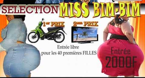 Concours miss Bim Bim: Le ministère de la femme dénonce une exploitation dégradante de l'image de la femme