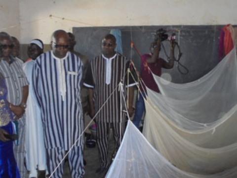Promesse du Président Kaboré aux sinistrés de Polesgo: Les vivres sont là, mais la distribution pose problème