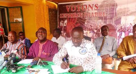 Coalition zéph 2015: «Le MPP a transformé le Burkina en un Etat-Garibou»