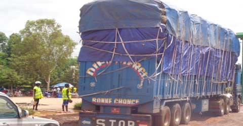 Circulation à Ouagadougou: Les camions poids lourds disputent  les artères avec les usagers