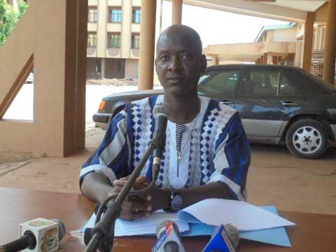 Crise à la CAMEG: «Si le ministre veut faire nommer quelqu'un d'autre, qu'il patiente», Me Jean Charles Tougma