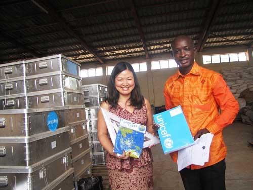 Gestion des stocks d'urgence: L'UNICEF en mission de contrôle dans les magasins du CONASUR