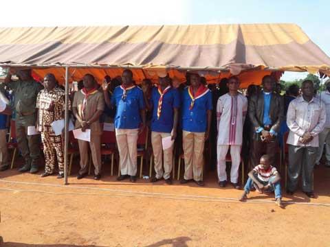 Camp National du Mouvement Flambeaux et Lumières:  C'est Banfora qui abrite la 13ème édition
