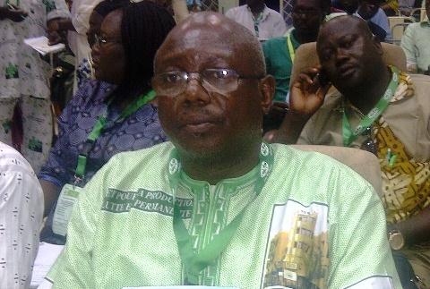 Confédération nationale des travailleurs du Burkina: Augustin Blaise Hien a été reconduit