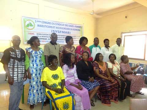 SYSFMAB: Honorine Kabré conduite à la tête du syndicat