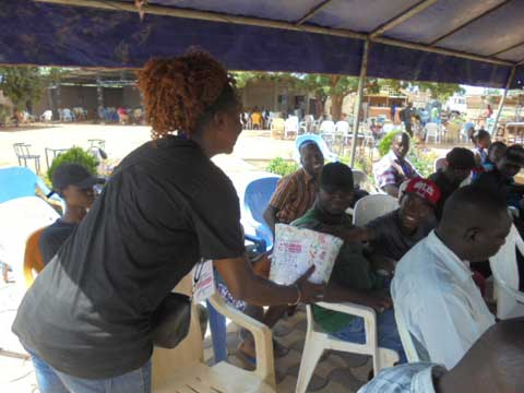 Université Aube Nouvelle: Des étudiants «sauvent des vies» au centre de santé de Saaba