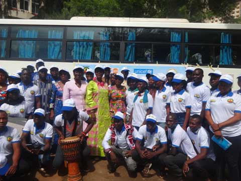 Promotion des droits de la femme: Une caravane pour porter le message de l'abandon de la pratique de l'excision
