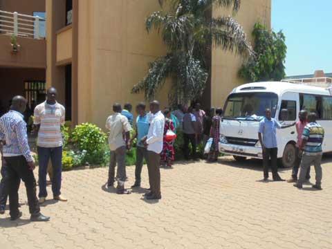 Crise à la CAMEG: Le personnel en sit-in pour une semaine