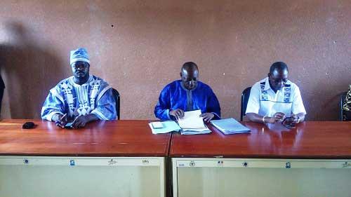 Redevabilité: Le député Raphaël Kouama rend compte aux forces vives du Kourwéogo