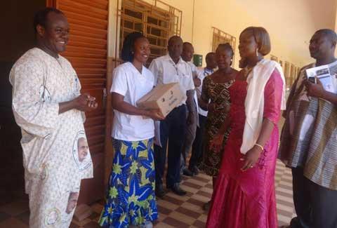 Arrondissement 3 de Ouagadougou: Le maire Raïnatou Sawadogo a visité des centres de santé