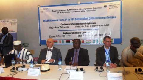 WASCAL: Une conférence scientifique régionale pour mieux cerner le phénomène des changements climatiques
