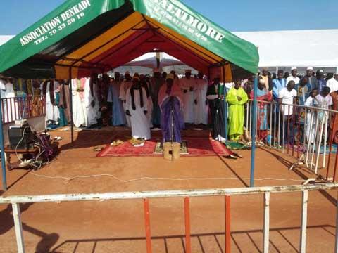 La fête de la Tabaski à Bobo-Dioulasso: Les fidèles musulmans ont prié pour la cohésion sociale