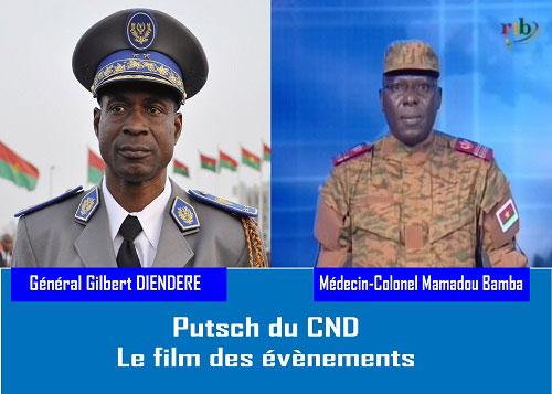 Putsch du CND: Revivez le film des événements avec Lefaso.net
