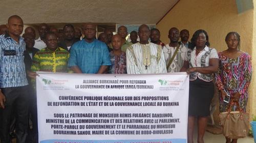 Bobo Dioulasso: L'ARGA veut refonder l'Etat burkinabè