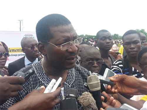 Alassane Bala Sakandé, président du groupe parlementaire MPP: «Nous trouverons des emplois à la jeunesse ou nous trouverons la jeunesse sur notre route»