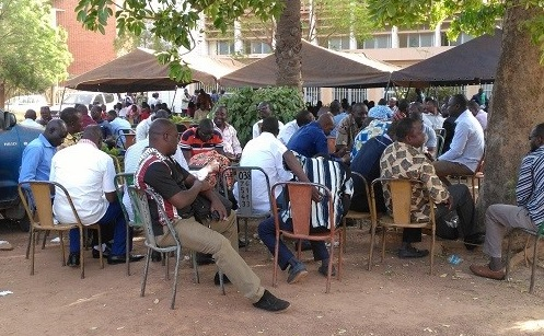 Ministère des finances: Après des semaines de  sit-in, le SYNAFI va en grève pour cinq jours