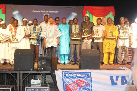 Trésors du Faso: Les mérites des acteurs culturels magnifiés