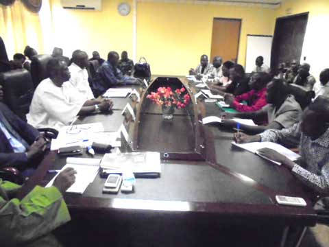 «Si la rencontre est encore pour faire du dilatoire, le SYNATIC a déjà déposé un préavis de grève de 72 h», prévient Siriki Dramé, SG/SYNATIC