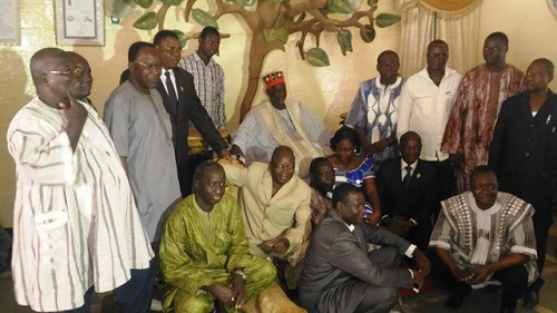 Deuxièmes journées parlementaires du CDP: Une visite de courtoisie au Mogho Naaba pour commencer