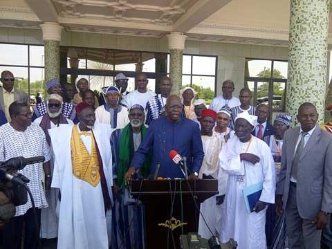 Centenaire de la révolte bwa: Roch Kaboré reçoit les chefs traditionnels de l'Ouest