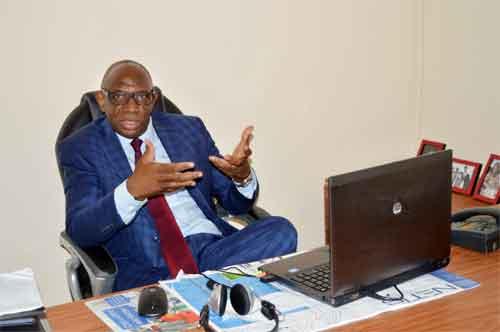 Charles Ido, directeur général de AITEK Burkina, l'entreprise qui veut redonner confiance au secteur de l'informatique