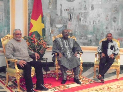 Mémorial Thomas Sankara: Rawlings reçu par le Président Kaboré