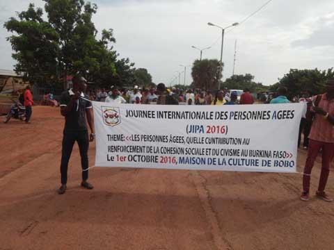Journée Internationale des Personnes Agées (JIPA): Bobo-Dioulasso a célébré les siennes