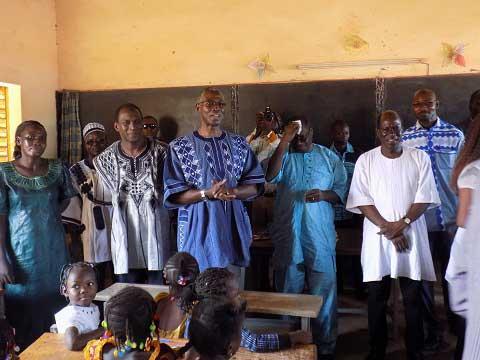 Education: Le ministre de l'éducation nationale sur le terrain pour constater l'effectivité de la rentrée scolaire