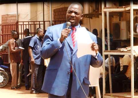 Grève du SYNATIC: Bassolma Bazié fait le distinguo entre dirigeant et autorité