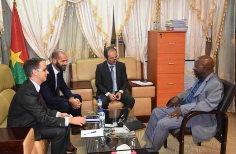 Le Directeur Afrique de l'AFD chez Simon Compaoré: Le financement du Plan de développement durable de la ville de Ouagadougou a l'ordre du jour
