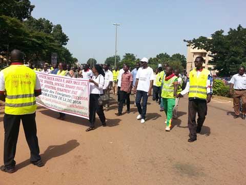 Journée mondiale des enseignants: Les syndicats de l'éducation invitent le gouvernement à sortir l'école burkinabè de sa situation chaotique!