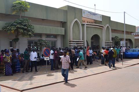 Grogne sociale: Les travailleurs de la commune de Ouagadougou ''Aussi''