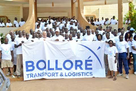 Bolloré Transports & Logistics marche pour la Croix Rouge et le Croissant Rouge